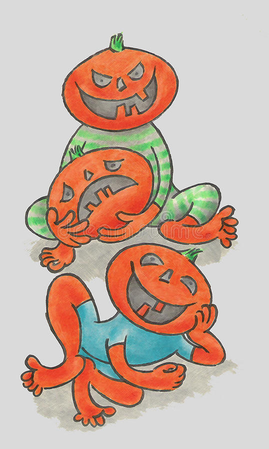 Download Pumpkin stock illustration. Image of colors, holiday - 11169866