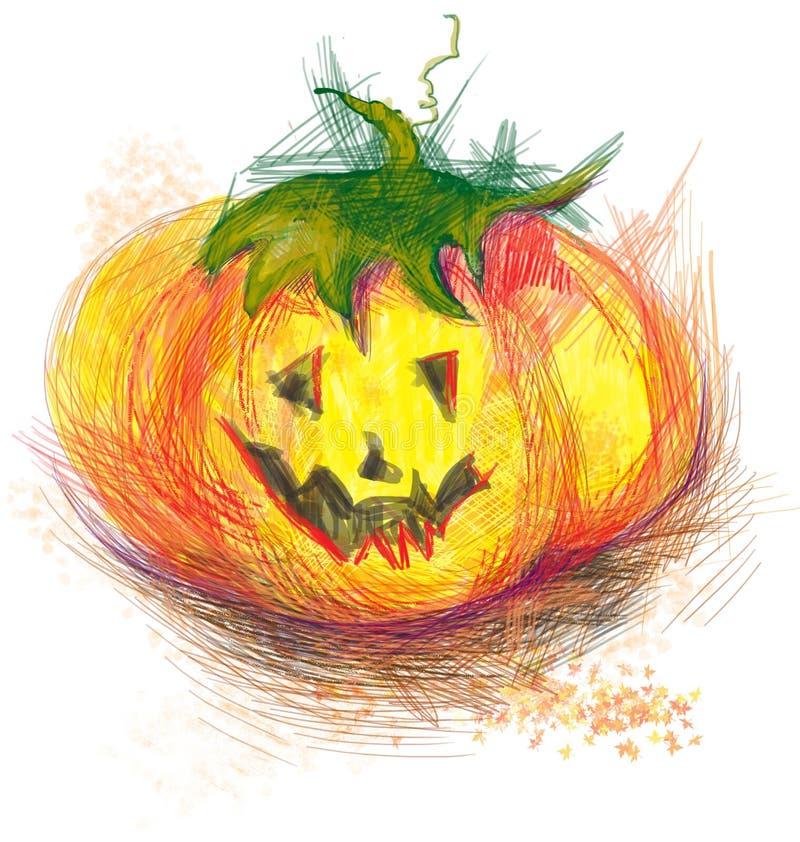 Download Pumpkin stock vector. Illustration of immortality, dismay - 26095109
