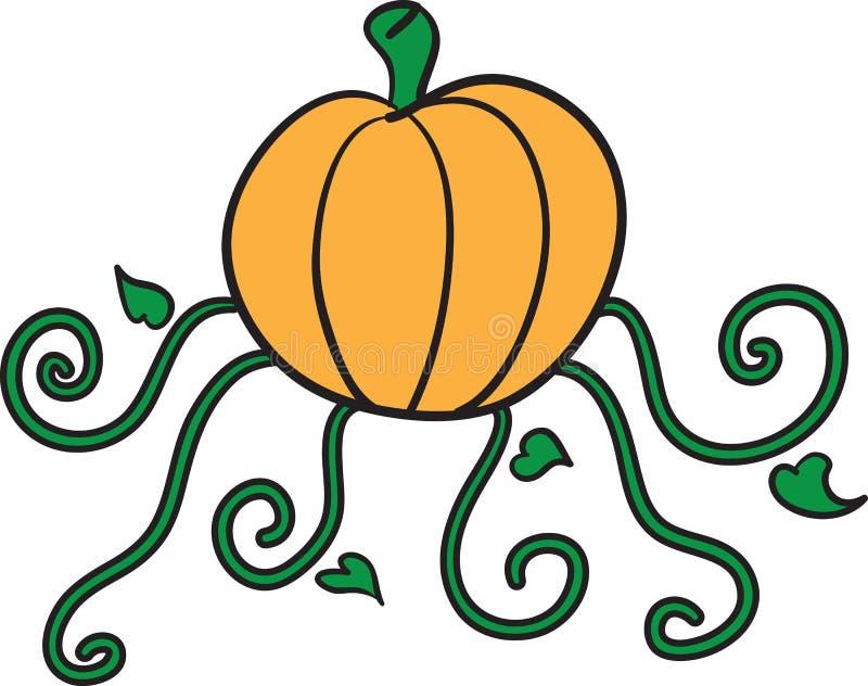 Download Pumpkin stock vector. Image of monster, trick, spiral - 27556907