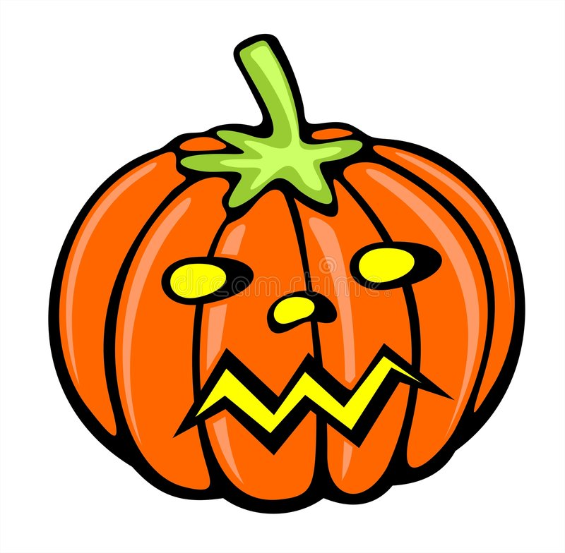 Download Pumpkin stock vector. Image of crop, autumn, nature, orange - 2866734