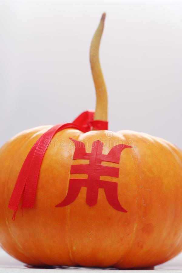 Download Pumpkin stock image. Image of auspicious, chinese, nature - 548653