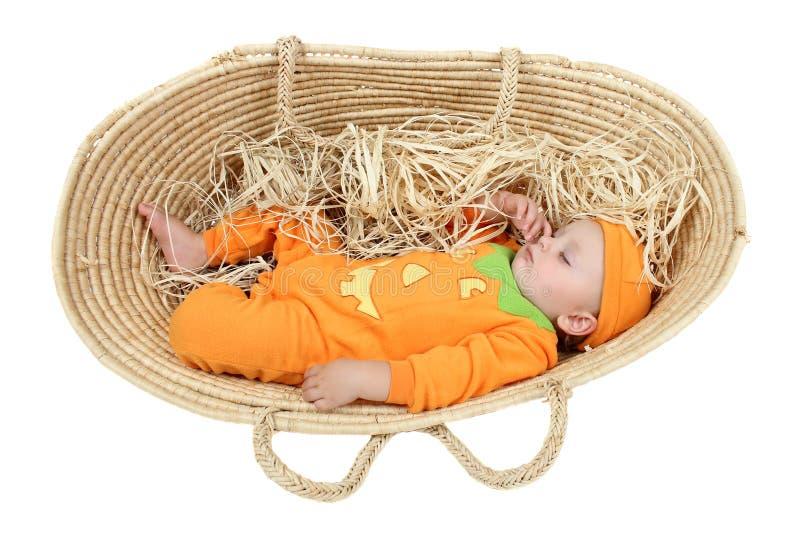 Download Pumpkin baby stock photo. Image of season, soft, people - 22597880