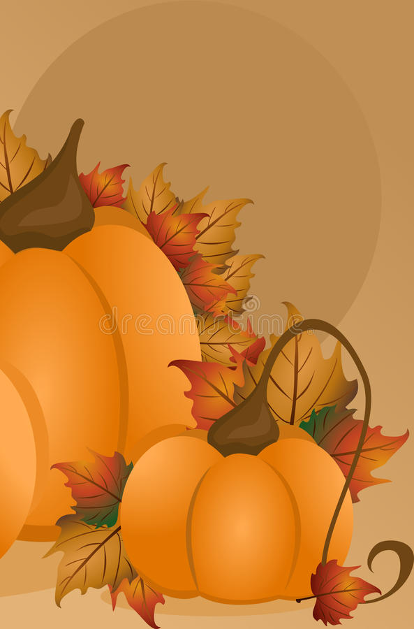 Download Pumpkin Background stock illustration. Illustration of illustration - 27933080