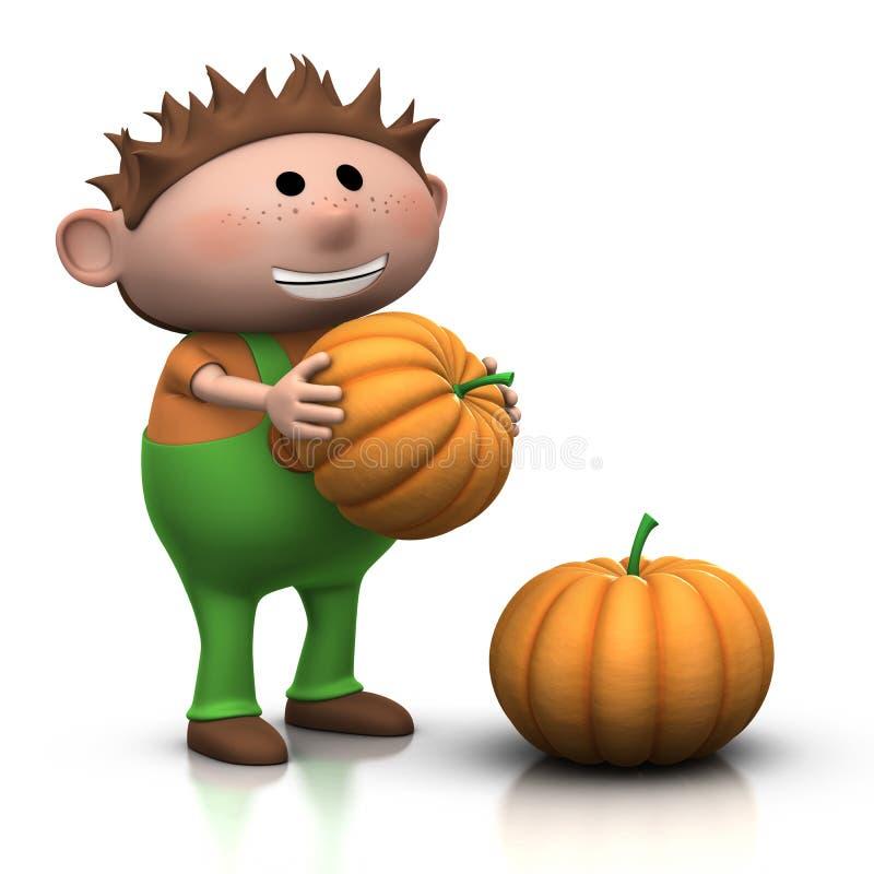 Free Pumpkin Boy Royalty Free Stock Photo - 16105755