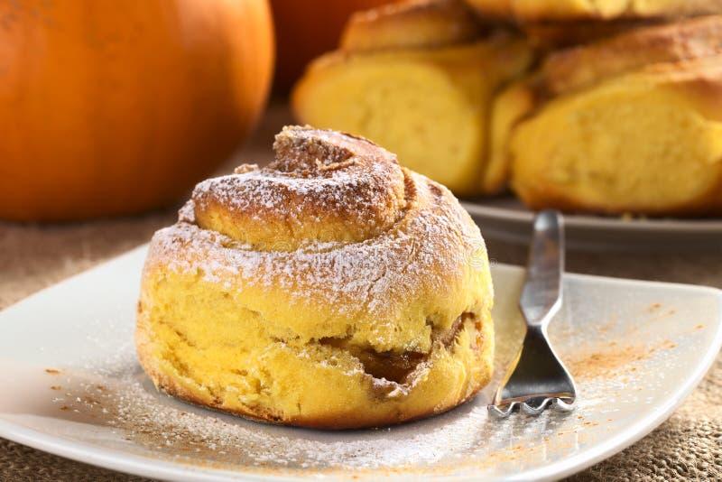 Download Pumpkin Cinnamon Roll Stock Photos - Image: 21751893