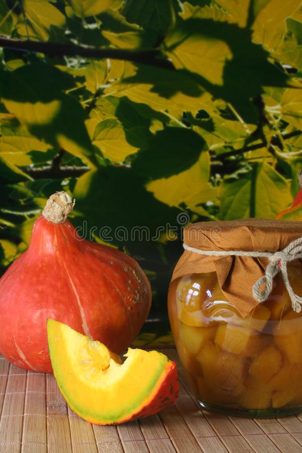 Pumpkin Compote Royalty Free Stock Photo