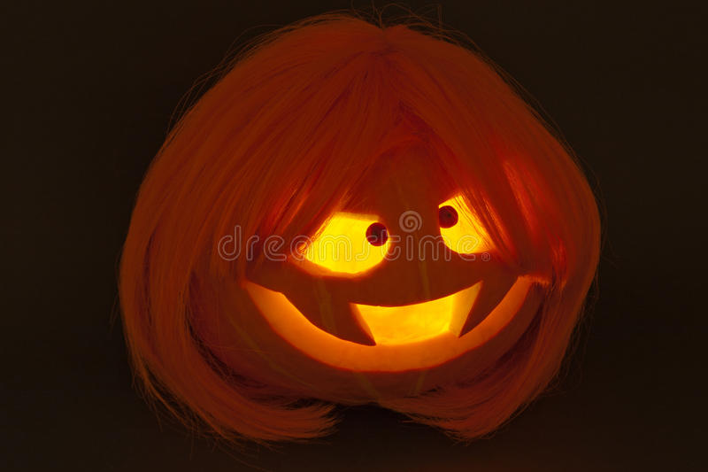 Pumpkin for Halloween stock image