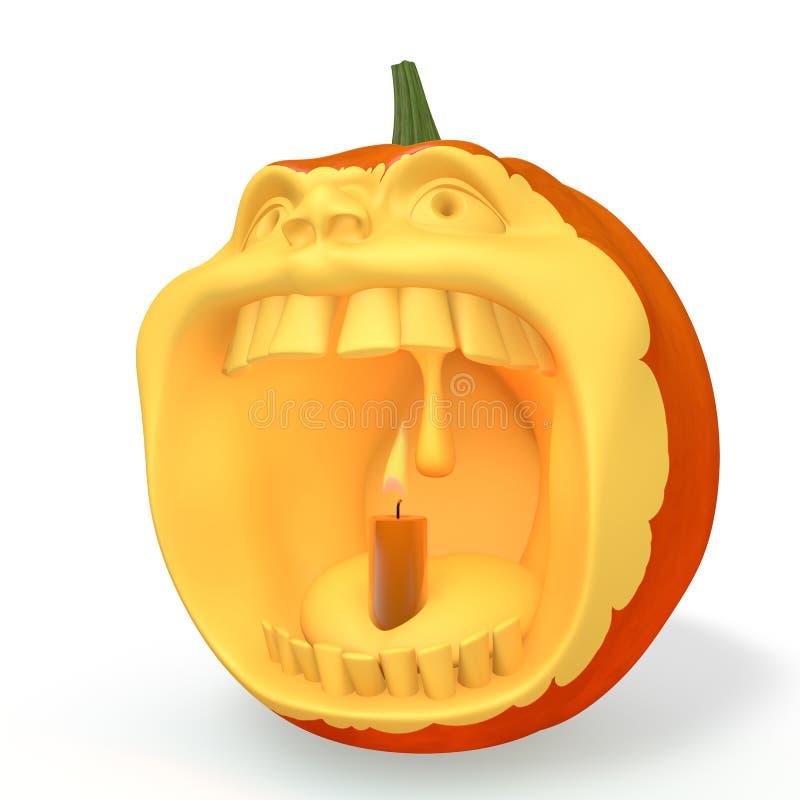 Download Pumpkin halloween stock illustration. Illustration of bright - 26535731
