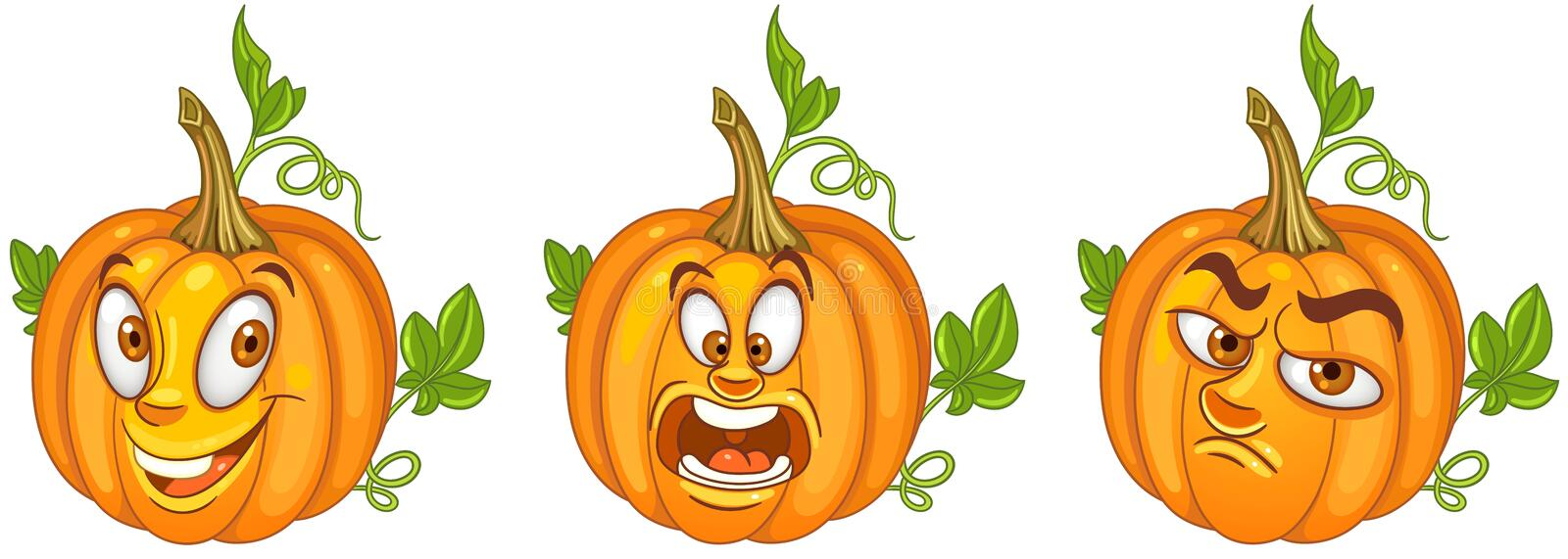 Pumpkin. Halloween holiday symbol royalty free stock image