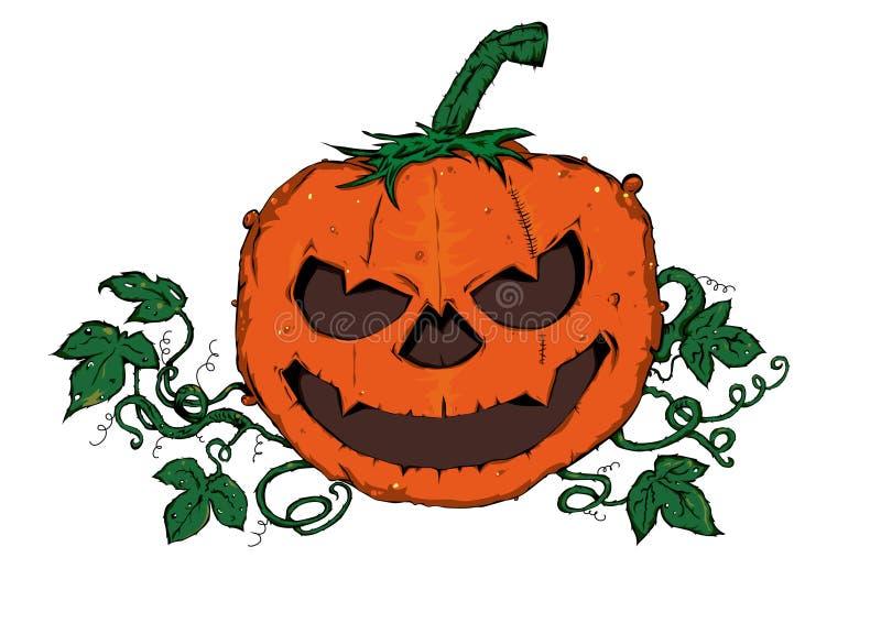 Pumpkin halloween. The illustration shows Pumpkin halloween stock illustration
