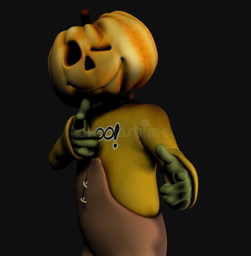 Download Pumpkin halloween man stock illustration. Image of trick - 2668438