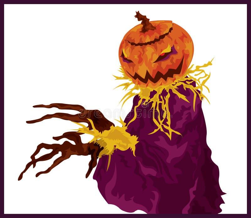 Download Pumpkin Head stock vector. Image of october, design, creepy - 3168774
