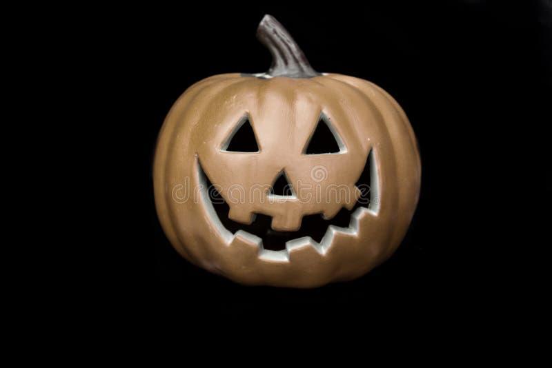 Pumpkin head Halloween prop royalty free stock photo