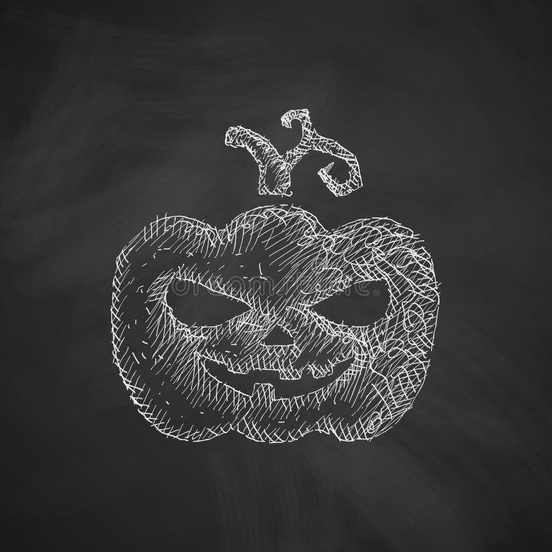 Pumpkin icon royalty free illustration