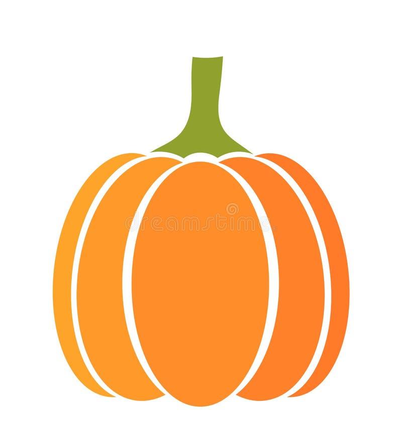 Pumpkin icon vector illustration