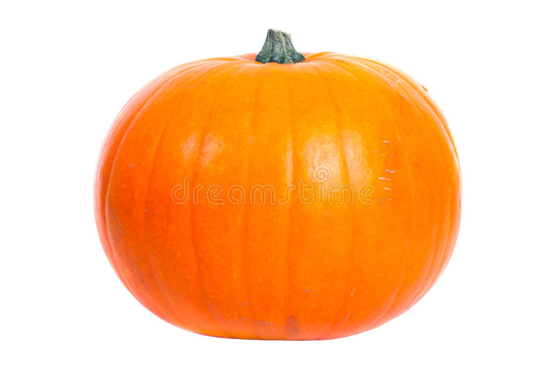 Download Pumpkin Isolated On White Stock Images - Image: 21751074