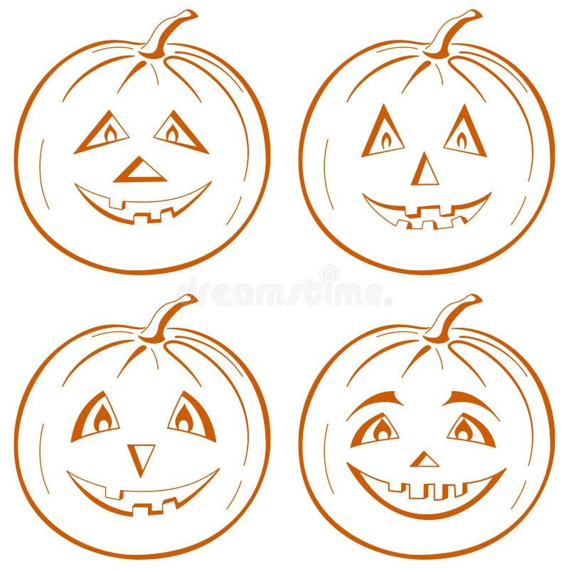 Pumpkin Jack O Lantern Royalty Free Stock Images