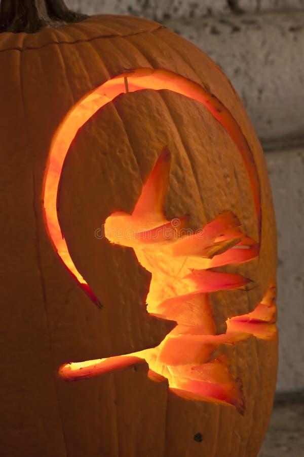 Pumpkin lamps royalty free stock photos