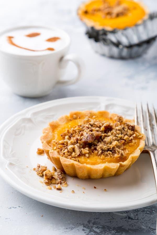 Pumpkin mini pie stock photography