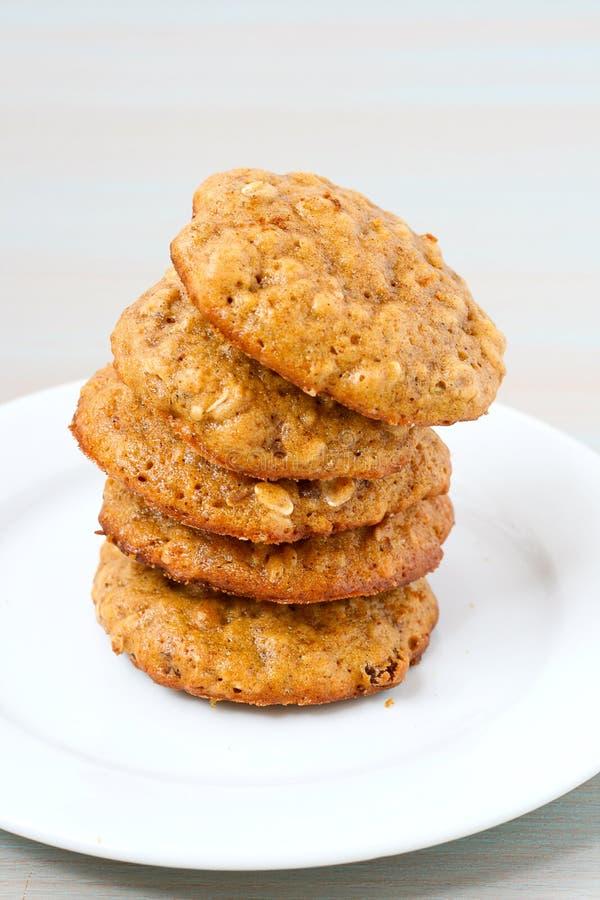 Download Pumpkin oat cookies stock image. Image of raisin, oatmeal - 27620225
