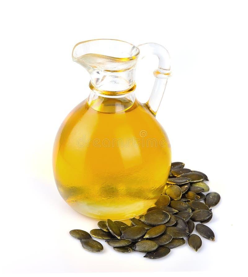 Pumpkin oil stock photos