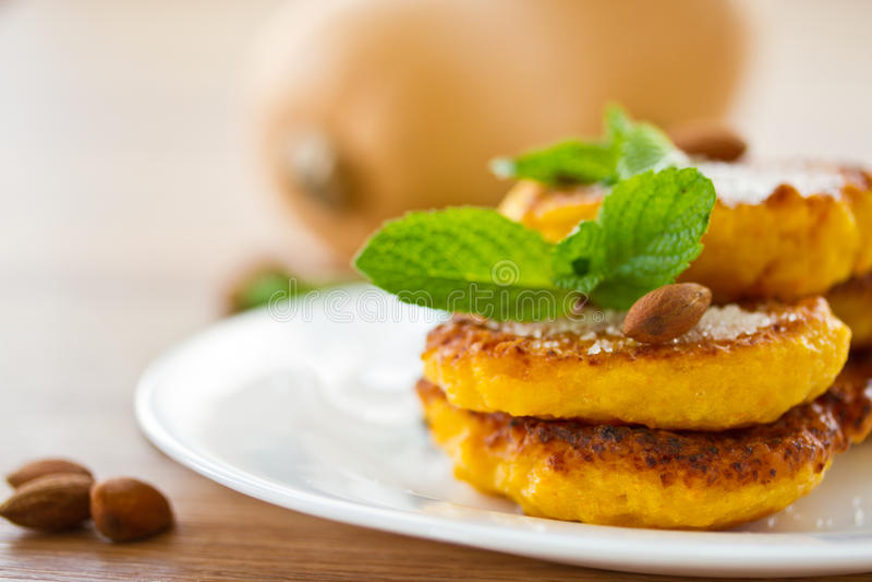 Download Pumpkin pancakes stock photo. Image of breakfast, freshness - 30613740