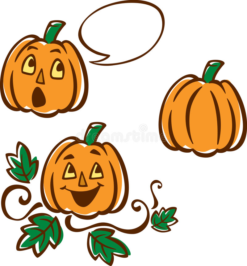 Download Pumpkin Patch stock vector. Image of vine, face, humor - 6739026