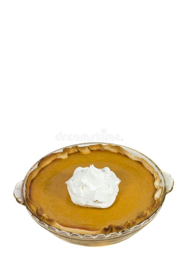 Pumpkin pie. stock image