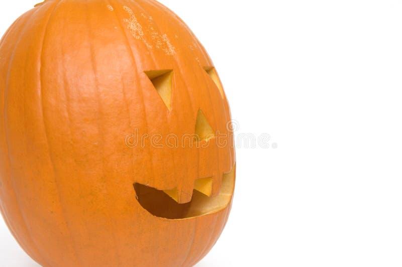 Pumpkin profile royalty free stock photo