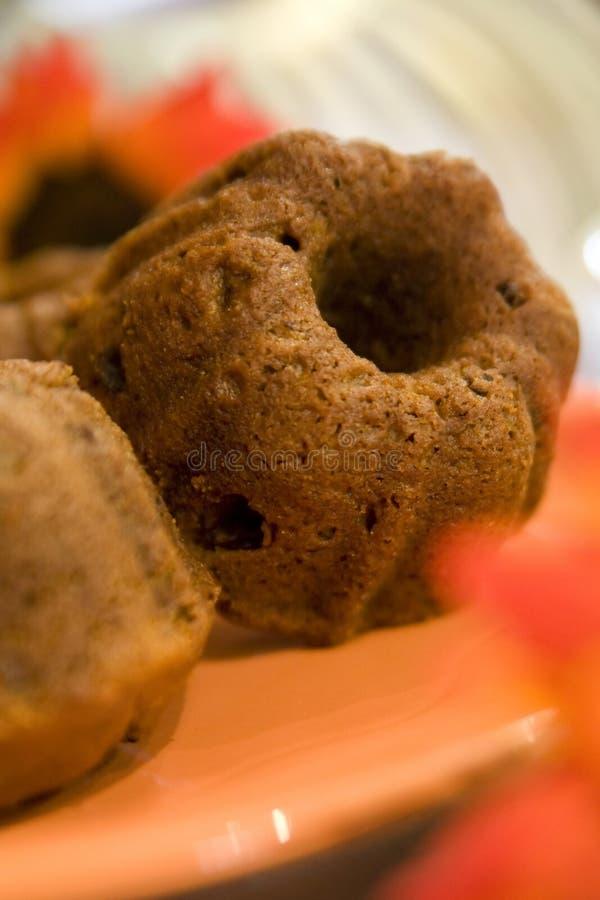 Pumpkin Raisin Muffins royalty free stock photography