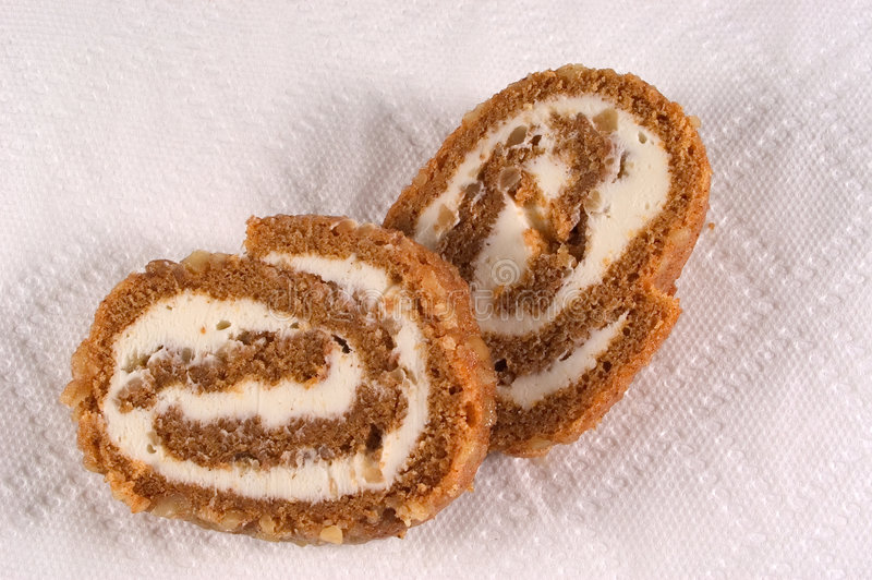 Download Pumpkin Roll stock image. Image of filling, paper, sweet - 32891