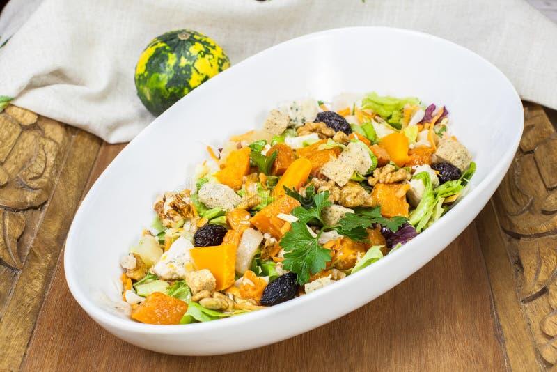Pumpkin salad royalty free stock photography