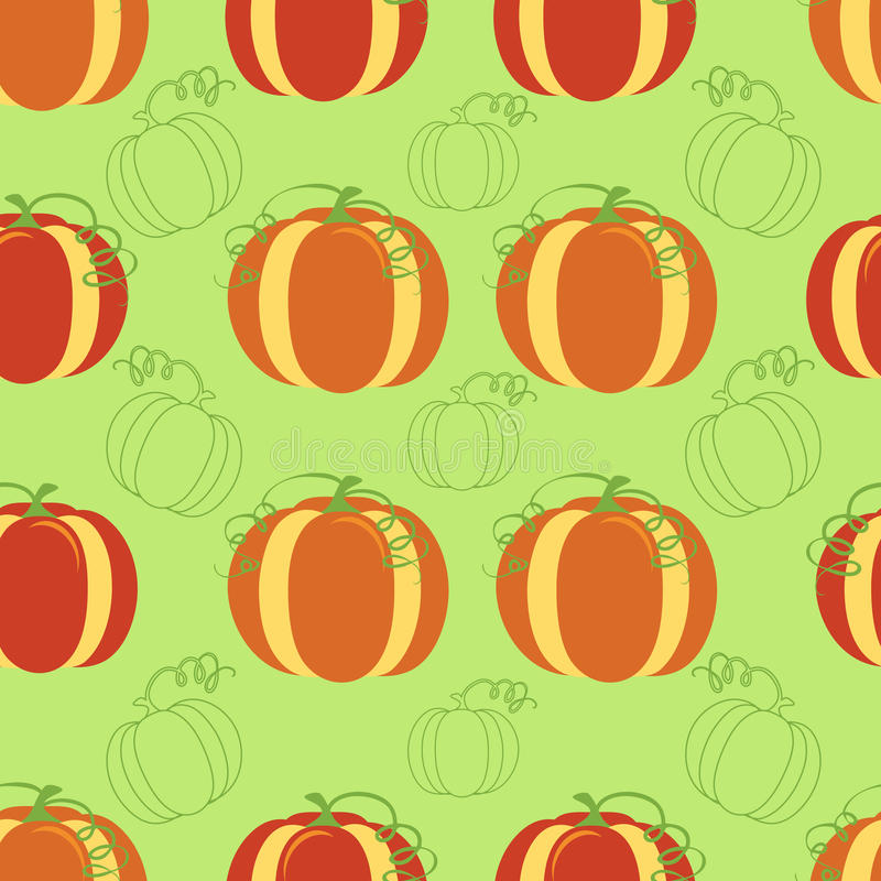 Download Pumpkin Seamless Background Stock Vector - Image: 23380760