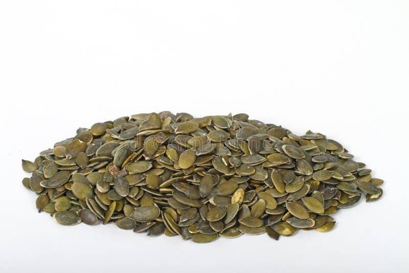 Pumpkin seeds stock image