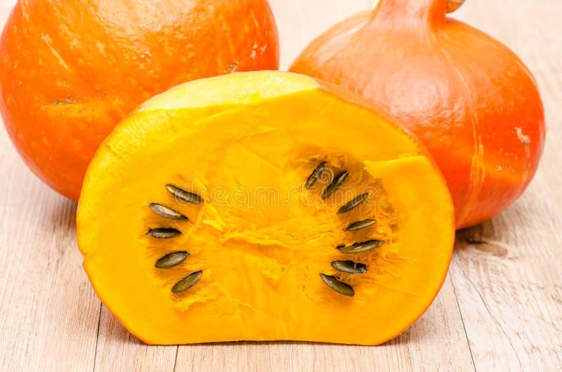 Download Pumpkin seeds stock photo. Image of sliced, table, halloween - 34270356