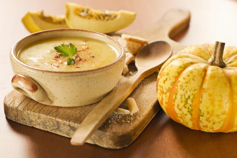 Download Pumpkin soup stock image. Image of pumpkin, herb, vegetarian - 11586041