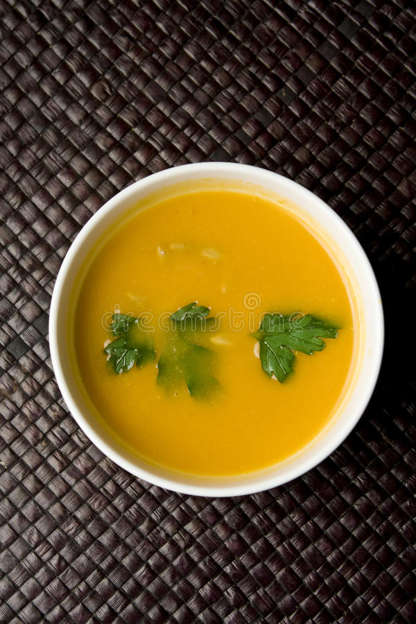 Download Pumpkin soup stock photo. Image of pumpkin, dining, diet - 12820940