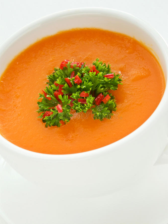 Download Pumpkin soup stock image. Image of bowl, green, meal - 19082105