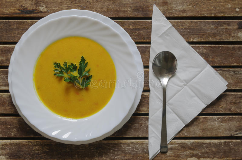 Download Pumpkin soup stock image. Image of green, spice, eating - 33809779