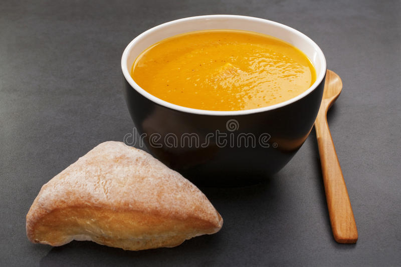 Pumpkin Soup Sweet Potato Carrot Royalty Free Stock Photography