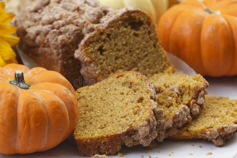 Pumpkin Spice Poundcake royalty free stock image