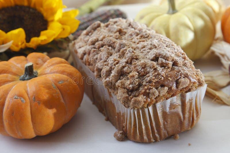 Pumpkin Spice Poundcake stock photography