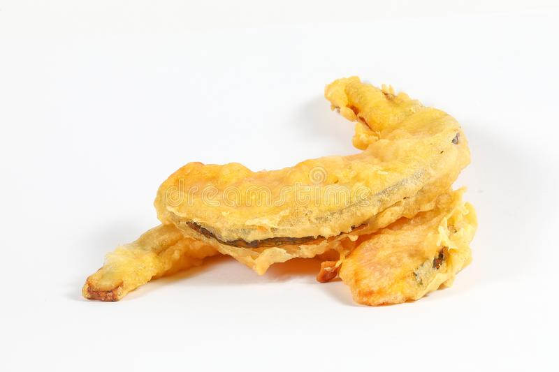 Pumpkin Tempura stock photography