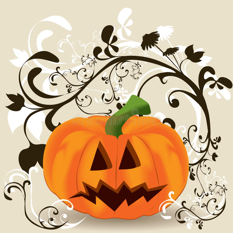 Pumpkin vector stock illustration