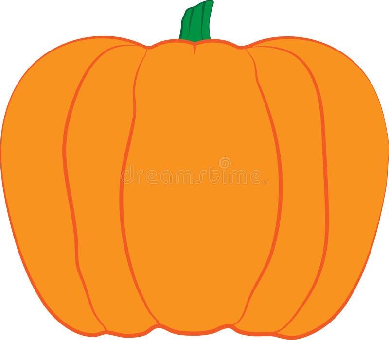 Pumpkin vector design illustration with stroke effects. Pumpkin design illustration with different stroke effects stock illustration