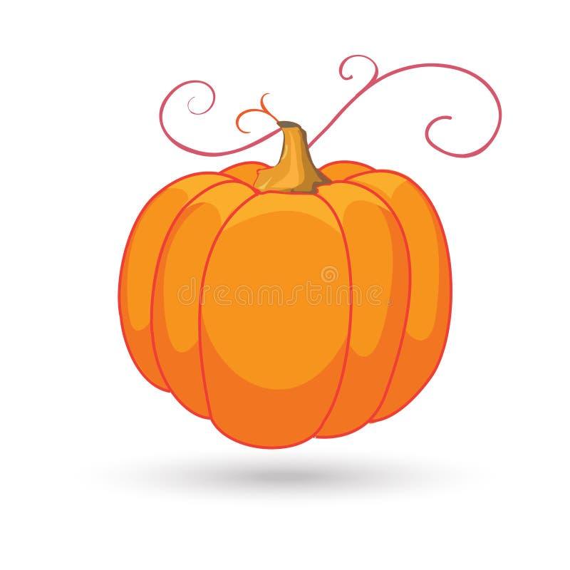 Download Pumpkin stock vector. Image of giving, card, gradient - 80355367