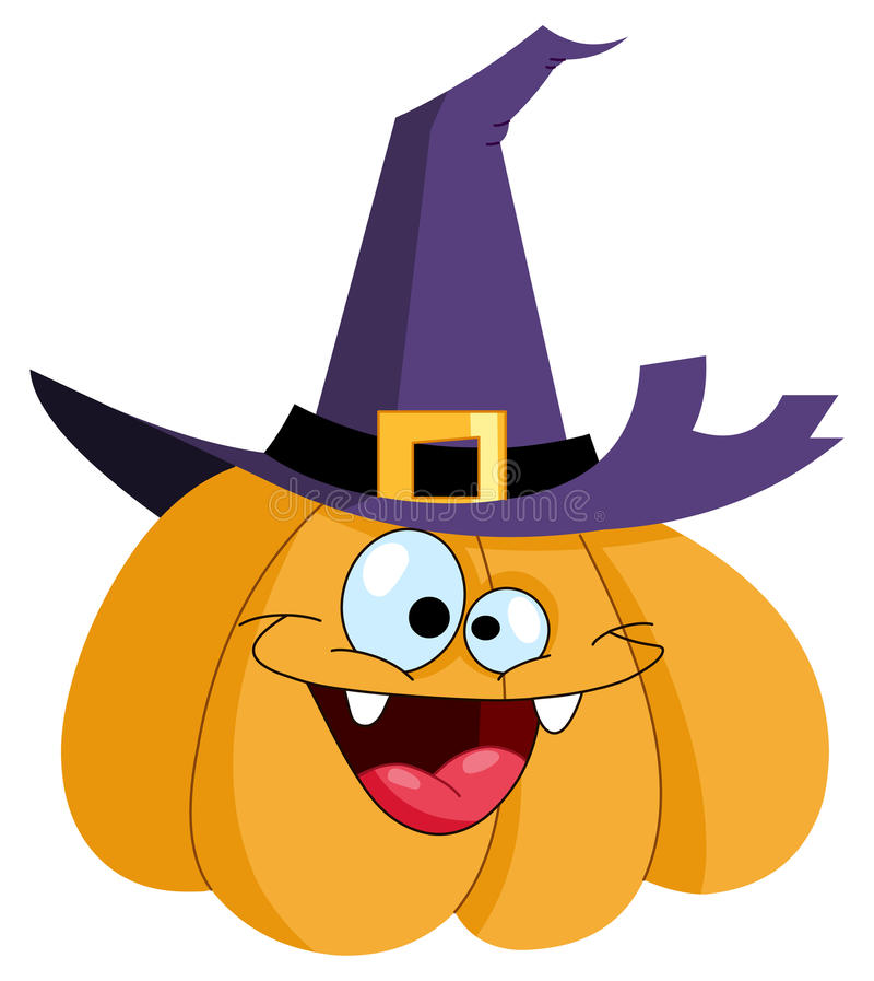 Download Pumpkin witch stock vector. Image of face, horror, garden - 16246517
