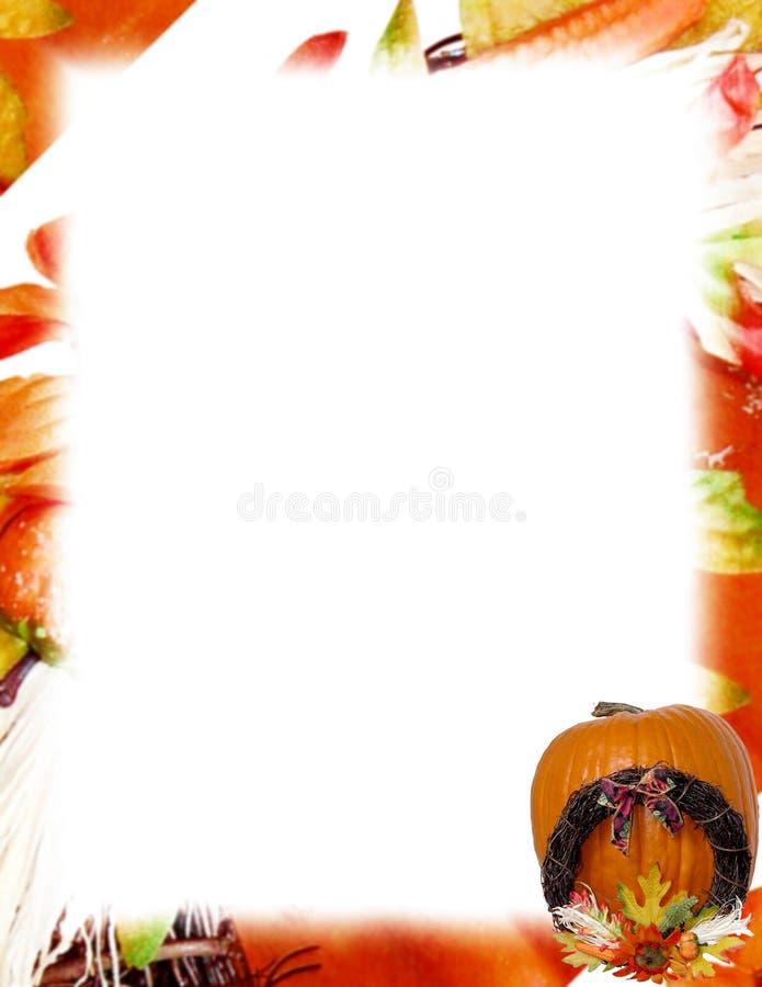 Pumpkin & Wreath vector illustration