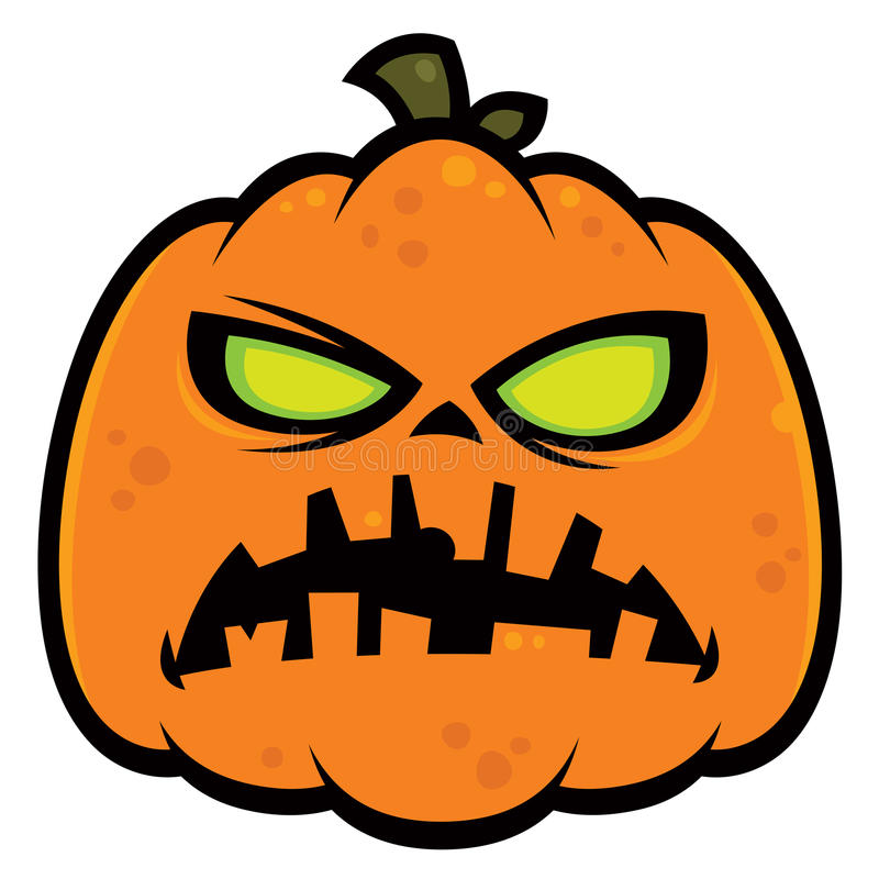 Download Pumpkin Zombie stock vector. Illustration of scary, lantern - 15444928