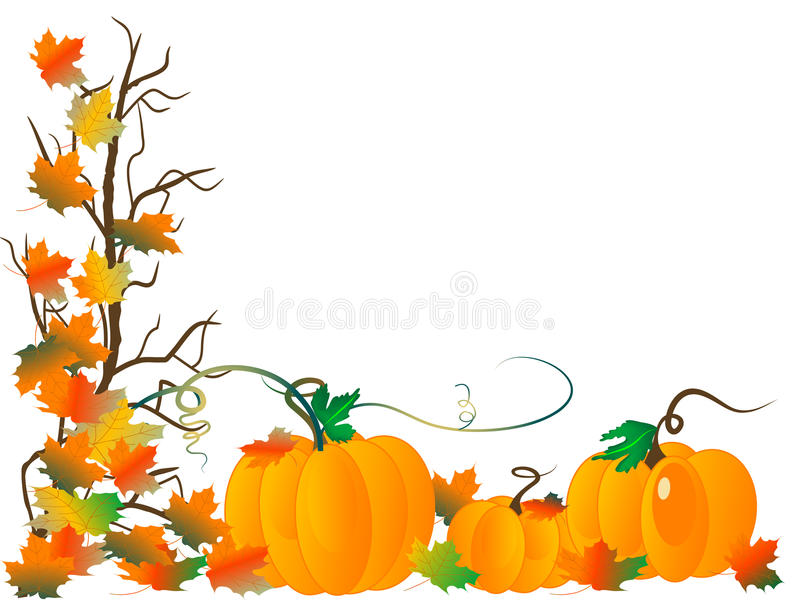 Pumpkins stock illustration